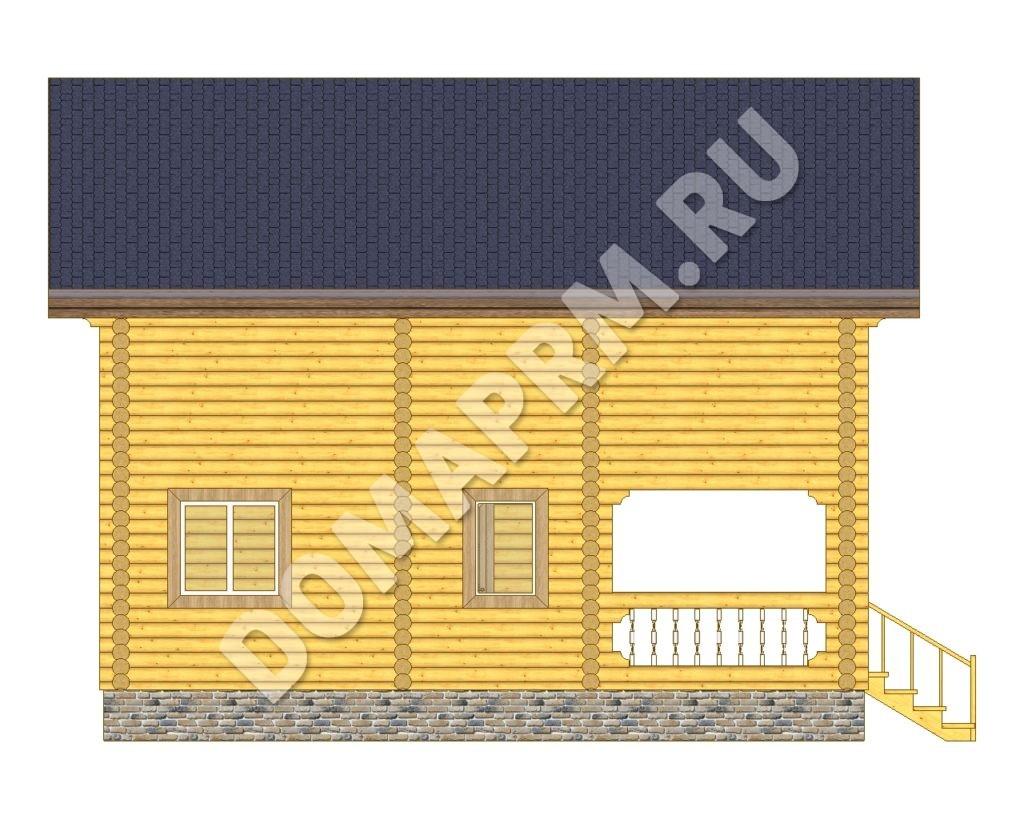Cтроительство домов из оцилиндрованного бревна в Перми