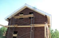 Устройство карниза крыши с окраской