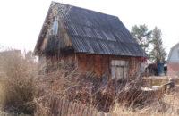 Демонтаж ветхого домика